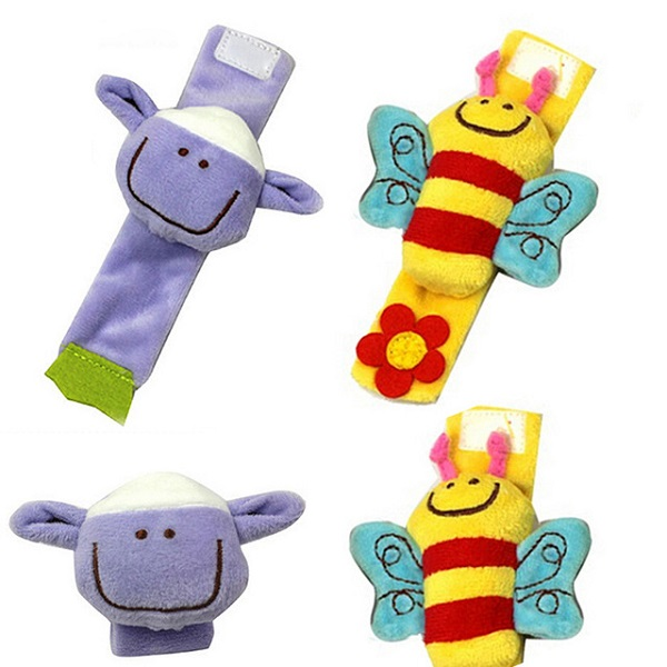 Baby Bow Wrist rattle toys