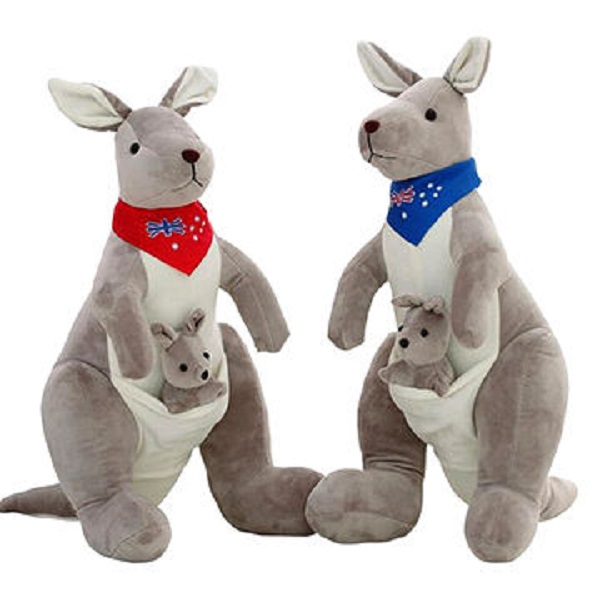 Kangaroo PLUSH stuff toys China