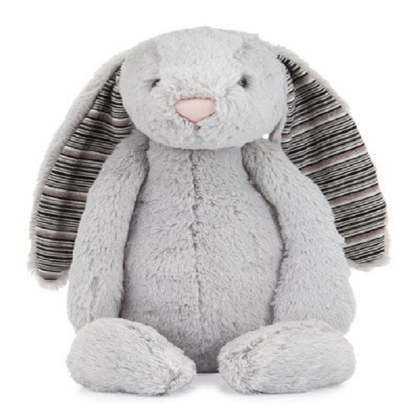 Baby toy Grey plush bunny stuffed toy