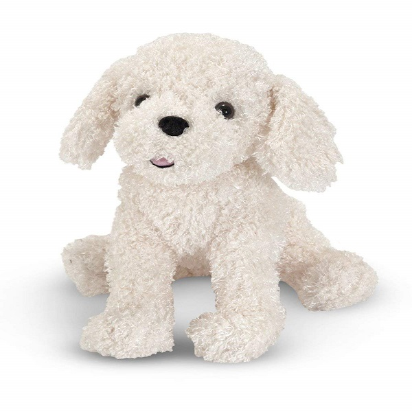Attractive New product Cute sitting hairy dog plush toy Dog