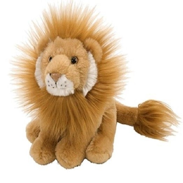 custom 8 inch mini lion plush stuffed animals