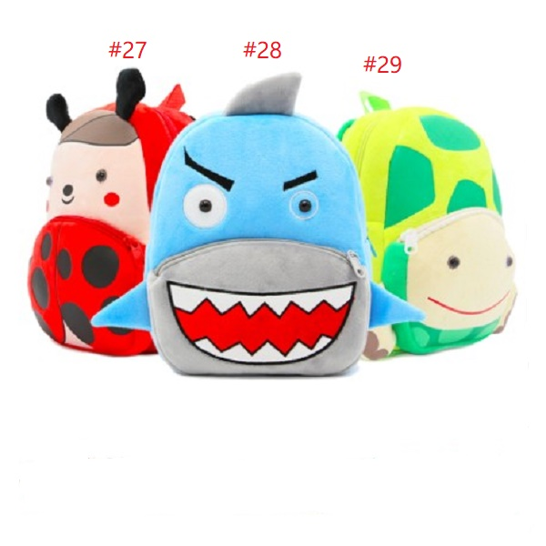 New Fashion Kids Cartoon plush bags child Backpack schoolbag little baby mini cute bags