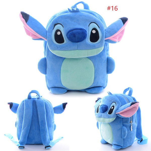 Cartoon Kids Backpacks | Plush STITCH Soft Backpack | Baby Plush Children Bag