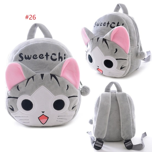 Plush Cartoon Bags Kids Backpack Children School Bags Animal Cute Bags
