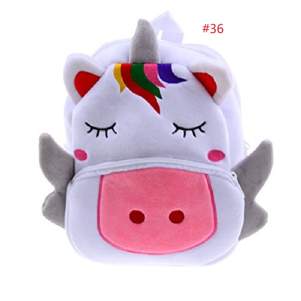 lovely plush Unicorn backpacks