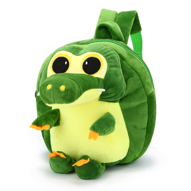 Kids Cartoon Dinosaur Backpack plush bag