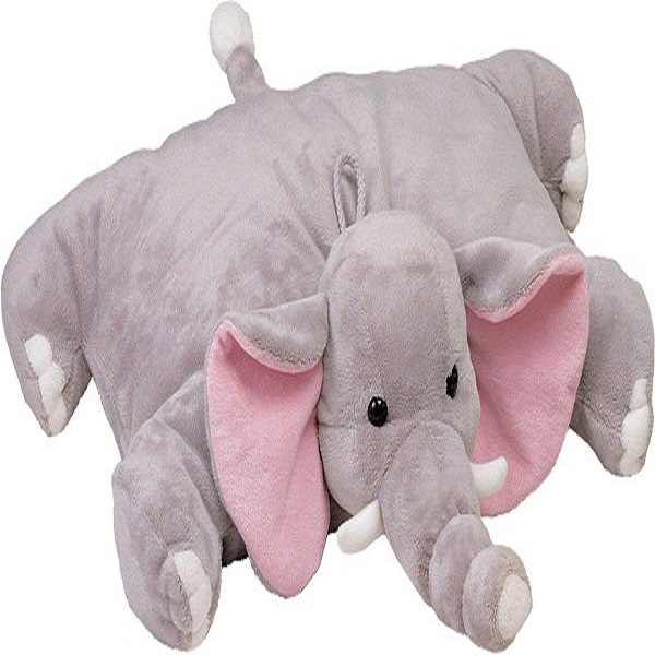 Elephant stuffed animal Pet pillow