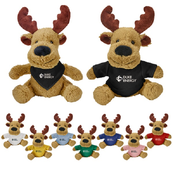 Custom Wholesale Plush Moose Factory Animal Stuffed Soft Toys
