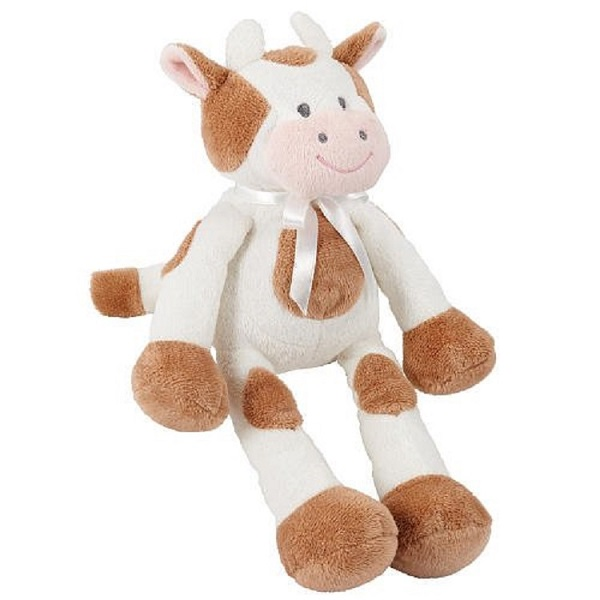 Floppy Farm animal cow toy plush