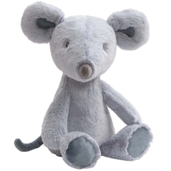 Custom Cartoon Fluffy Stuffed Rat Grey Mouse Plush Toys for Kids