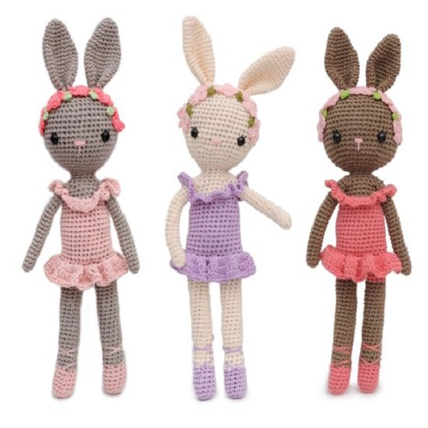 China Factory Custom Cute Handmade Amigurumi Stuffed Toy Knit Crochet Plush Mice Toys Baby Soft Stuffed Animal Doll Hand Knitted Dolls